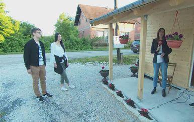 Učenici srednjih škola obnovili kuću u Glini