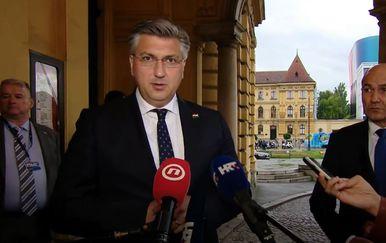 Andrej Plenković, Dan državnosti, HNK