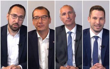 Tomislav Tomašević, Marko Filipović, Ivica Puljak i Ivan Radić