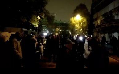 Prosvjed na Laništu (Foto: Dnevnik.hr)