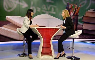 Ministrica Blaženka Divjak, gošća Dnevnika Nove TV (Foto: Dnevnik Nove TV)