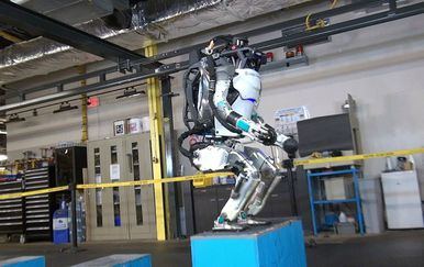 Atlas je najsiaknutije dijete tvrtke Boston Dynamics (FOTO: YouTube/Screenshot)
