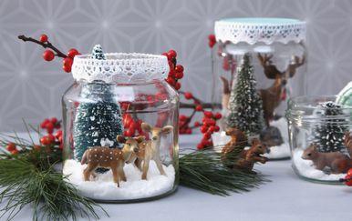 Božićni ukrasi u domu