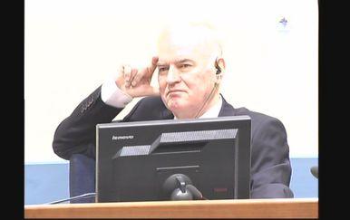 Ratko Mlaidć (Screenshot: Reuters)