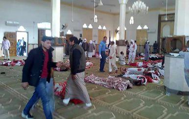 Napad na džamiju u Egiptu (Foto: AFP)