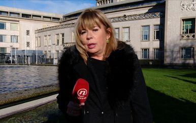 Ivana Petrović uživo iz Haaga (Foto: Dnevnik.hr)