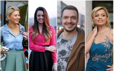 Ana Begić Tahiri, Andrea Andrassy, Filip Dizdar, Andrea Šušnjara (FOTO: Pixsell)