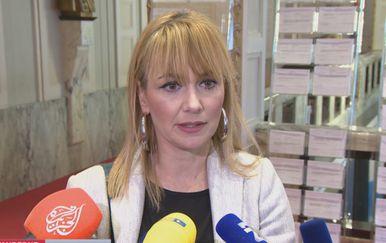 Bruna Esih, Neovisni za Hrvatsku (Foto: Izvanredne vijesti NoveTV)