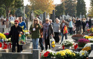 Groblje u Osijeku (Foto: Dubravka Petric/PIXSELL)