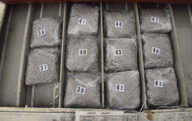 U hladnjači pronašli 90 paketa droge (Foto: MUP) - 1