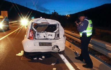 Prometna nesreća kod Šibenika (Foto: Dusko Jaramaz/PIXSELL)