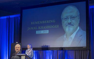 Komemoracija za Jamala Khashoggija u Washingtonu (Foto: AFP)