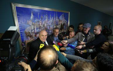 Gradonačelnik Bandić susreo se s predsjednikom Skupštine grada Jagodine (Foto: Pixsell)