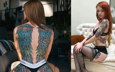 Tetovirane djevojke (Foto: thechive.com)
