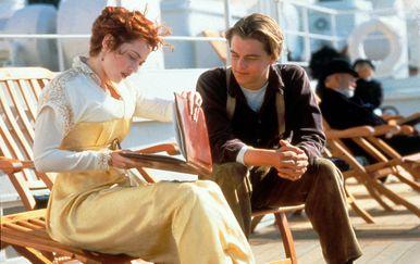 Kate Winslet i Leonardo Dicaprio u Titanicu