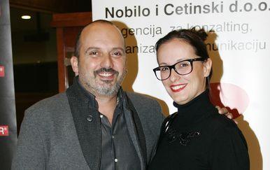 Ivana Nobilo, Tony Cetinski (FOTO: Slavko Midzor/PIXSELL)