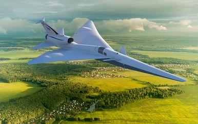 NASA-in eksperimentalni zrakoplov (Foto: NASA)