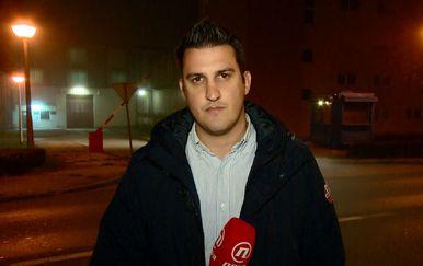Domagoj Mikić ispred zatvora u Remetincu (Foto: Dnevnik.hr)