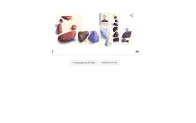 Google Doodle danas je posvećen Elisi Leonidi Zamfirescu (Screenshot: Google)