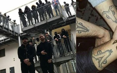 Albanski mafijaši (Foto: Instagram)
