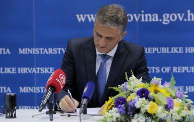 Ministar državne imovine Goran Marić (Foto: Tomislav Miletic/PIXSELL)