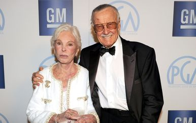Stan i Joan Lee (Foto: AFP)