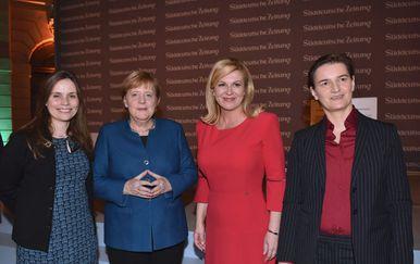 Predsjednica na konferenciji u Berlinu (Foto: Twitter/Predsjednica RH)