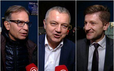 Ministri Capelli, Horvat i marić nakon utakmice Hrvatska-Španjolska u Maksimiru (Foto: Dnevnik.hr)