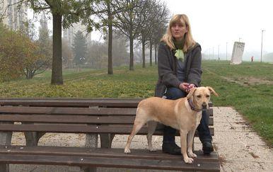 Četveronožna prijateljica Sanje Doležal (Foto: Dnevnik.hr)