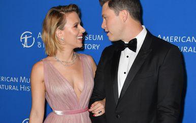 Scarlett Johansson i Colin Jost (Foto: AFP)