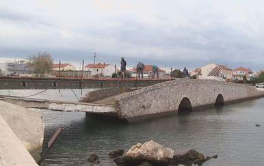 Obnova mosta u Ninu (Foto: Dnevnik.hr)