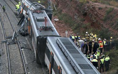 Željeznička nesreća u Španjolskoj (Foto: AFP) - 5