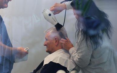 Ivica Todorić prvo jutro na slobodi iskoristio je za posjet frizeru (Foto: Tomislav Miletic/PIXSELL) - 7
