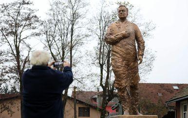Statua Franje Tuđmana (Foto: Jurica Galoic/PIXSELL)