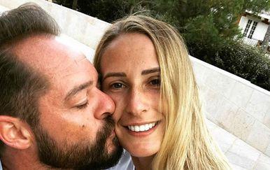 Željko Krajan i Polona Hercog (Foto: Instagram)