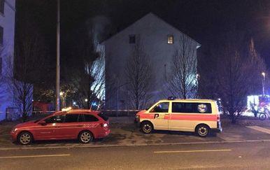 U požaru u gradu Solothrunu poginulo je šestero ljudi (Foto: AFP)