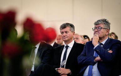 Ministar Milan Kujundžić i Ante Čorušić (Foto: Sandra Simunovic/PIXSELL)