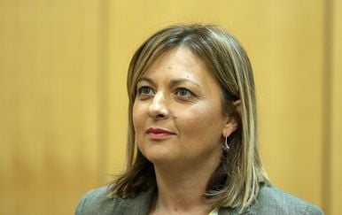Predsjednica Foruma žena SDP-a Maja Sporiš (Foto: Patrik Macek/PIXSELL)