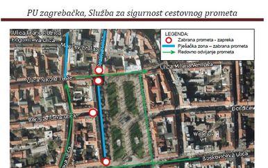 Posebna regulacija prometa tijekom Adventa u Zagrebu (Foto: PUZ)