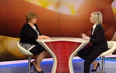 Gošća Dnevnika Nove TV resorna ministrica Nada Murganić (Foto: Dnevnik.hr) - 2