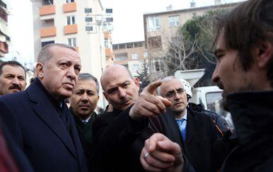 Recep Tayyip Erdogan i Sulejman Sojlu (Foto: AFP)