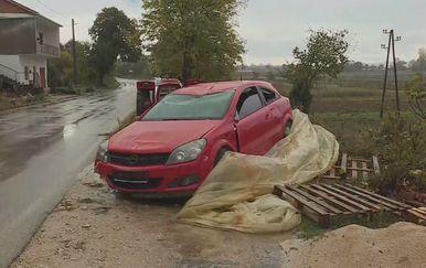Automobili koji su navodno razbili migranti (Foto: Dnevnik.hr) - 2