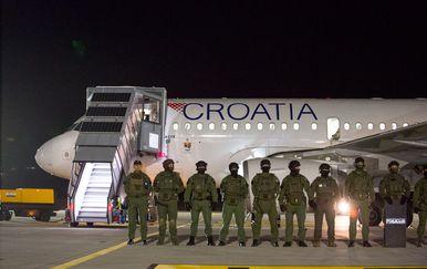 Antiteroristička vježba u dubrovačkoj zračnoj luci (Foto: Croatia Airlines)