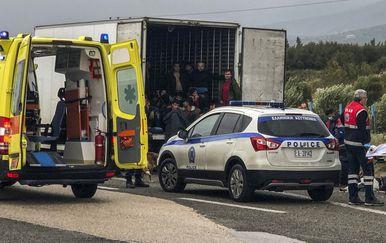 U hladnjači našli 41 migranta (Foto: AFP)