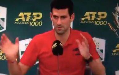 Novak Đoković (Screenshot)