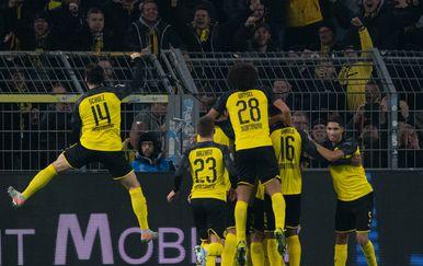 Borussia Dortmund slavi gol (Foto: AFP)