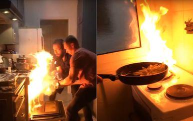 Kaos u kuhinji (Foto: Screenshot/YouTube)