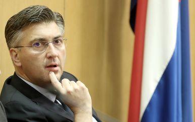 Andrej Plenković (Foto: Sanjin Strukic/PIXSELL)