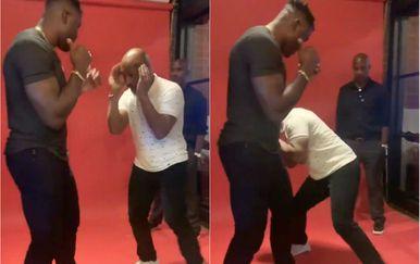 Mike Tyson i Francis Ngannou (Screenshot)