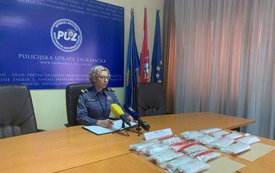 Druga velika zapljena heroina u studenom (Foto: PU zagrebačka)